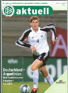 England 19.11.2008 DFB-Aktuell 7//2008 Deutschland
