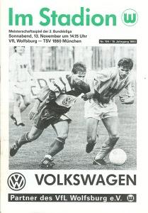 Programm 1993//94 FC Hansa Rostock SV Meppen